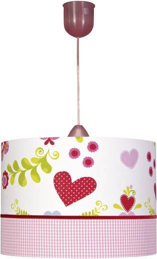 Mennyezeti függő lámpa, szív mintával, E27 75 W Herz/Vichy Karo