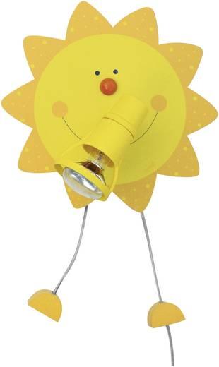 Fali lámpa, napocska formájú, E14, 9 W Waldi Leuchten 82221.0 Sonne