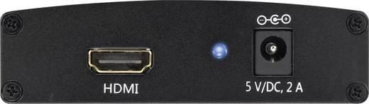 HDMI - komponens jelátalakító, AV konverter [1x HDMI aljzat - 5x RCA aljzat] SpeaKa 1095853