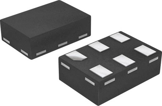 Logikai IC - inverter NXP Semiconductors 74AUP1G06GF,132 Inverter