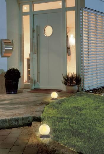 Napelemes, úsztatható LED-es kertilámpa, gömb forma, max. 8 óra