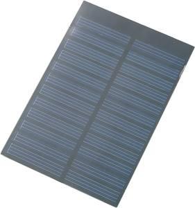 Conrad polikristályos napelem modul, 6 V, 150 mA, 0,9 W (110454)