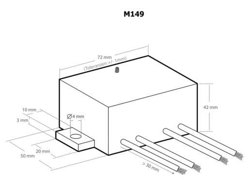 Kemo M149 szolár töltésszabályozó 12V 6A
