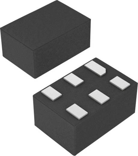 Akku töltés vezérlő PMIC Maxim Integrated MAX6775LTA+T Akkufelügyelet Alkáli/Li-Ion/NiCd/NiMH uDFN-6 (1,5x1,0)