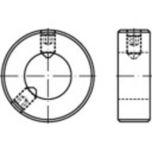 TOOLCRAFT 112367 Állítógyűrűk Külső Ø: 80 mm M12 DIN 703 Acél 1 db TOOLCRAFT