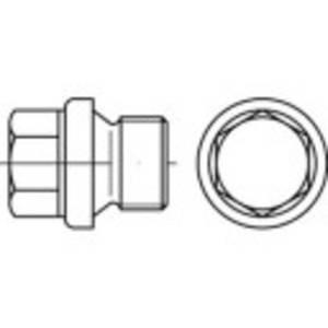 TOOLCRAFT 112803 Zárócsavar 5/8 coll Külső hatlap DIN 910 Acél 25 db TOOLCRAFT