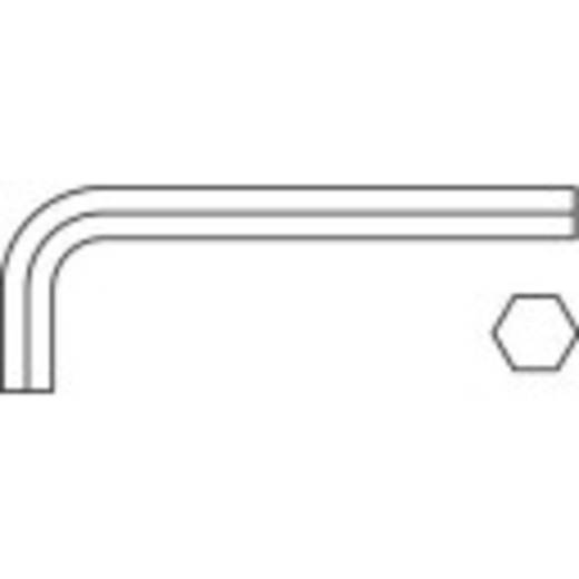 Hatszögkulcs, metrikus 6 mm-es Toolcraft 112858