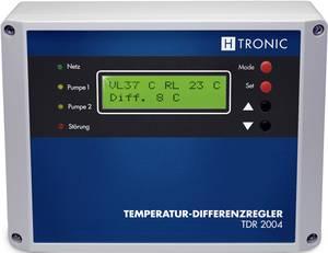 H-tronic TDR 2004 hőmérséklet különbség szabályozó H-Tronic