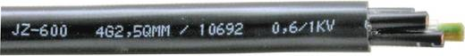 Vezérlő vezeték YSLY-JZ 600 4 x 2.5 mm² Fekete Faber Kabel 033666 méteráru