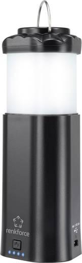 LED Kemping lámpás Renkforce 3 az 1-ben Akkuról üzemeltetett 203 g Fekete 4143c2