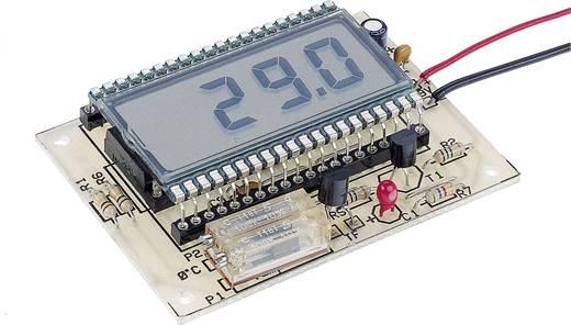 LCD-s hőmérő építőkészlet -50...+150 °C, 9-12 V, Conrad