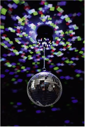 LED-es tükörgömb, diszkógömb, Renkforce