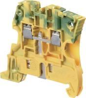 ABB 1SNK 506 150 R0000 Védővezetékes kapocs 6 mm Csavaros csatlakozó Kiosztás: PE Zöld, Sárga 1 db ABB