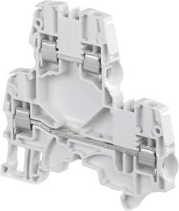 ABB 1SNK 505 220 R0000 Dupla szintes átmenő kapocs 5.2 mm Csavaros csatlakozó Kiosztás: N Kék 1 db ABB