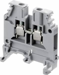 ABB 1SNA 115 118 R1100 Átmenő kapocs 12 mm Csavaros csatlakozó Kiosztás: L Szürke 1 db ABB