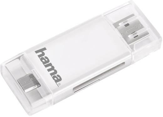 USB kártyaolvasó, memóriakártya olvasó okostelefonhoz, tablethez Hama 123949