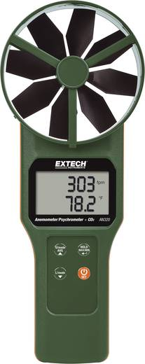Áramlásmérő anemométer 0.2-től 30 m/s-ig Extech AN320
