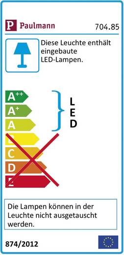 Dekorációs fénycsík, csillám effekttel/fehér LED, Function YourLED Paulmann 70485
