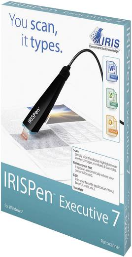 Digitalizáló toll IRIS by Canon IRISPen™ Executive 7 USB