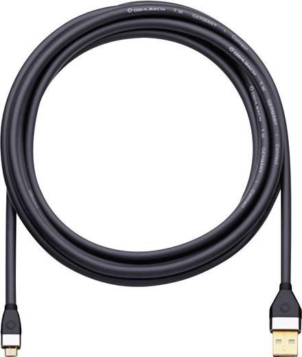Számítógép Csatlakozókábel [1x USB 2.0 dugó A - 1x ] 2 m Fekete Oehlbach