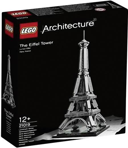 Lego Architecture - Eiffel torony