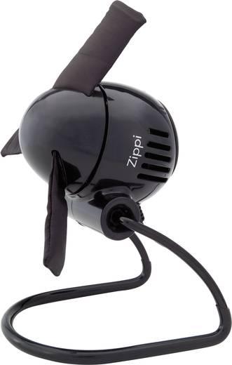 Mini asztali ventilátor, Vornado Zippi 20 W (Ø) 18.8 cm Fekete