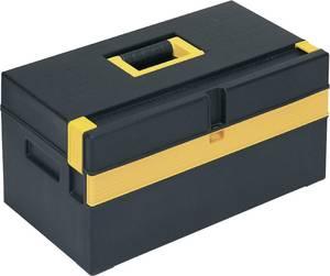 Alutec 56560 Szerszámos láda tartalom nélkül Műanyag Fekete, Sárga Alutec