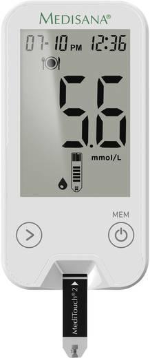 Vércukormérő, 2mmol/L, Medisana MediTouch