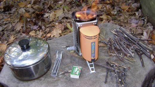 Kemping tűzhely és termoelektromos generátor, BioLite CampStove BL-CSA