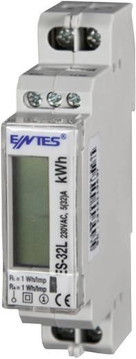 Digitális váltóáramú fogyasztásmérő 32 A, hitelesített, ENTES ES-32L MID