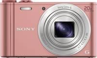 Sony Cyber-Shot DSC-WX350P Digitális kamera 18.2 Megapixel Optikai zoom: 20 x Rózsaszín Full HD video, WiFi Sony