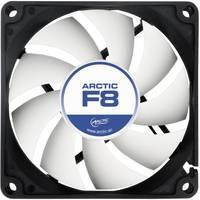 Számítógépház ventilátor 80 x 80 x 25 mm, Arctic F8 Arctic