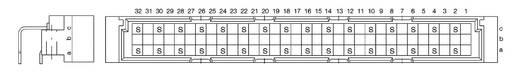 Csatlakozóléc Kivitel C a+c 374545 ERNI Tartalom: 1 db