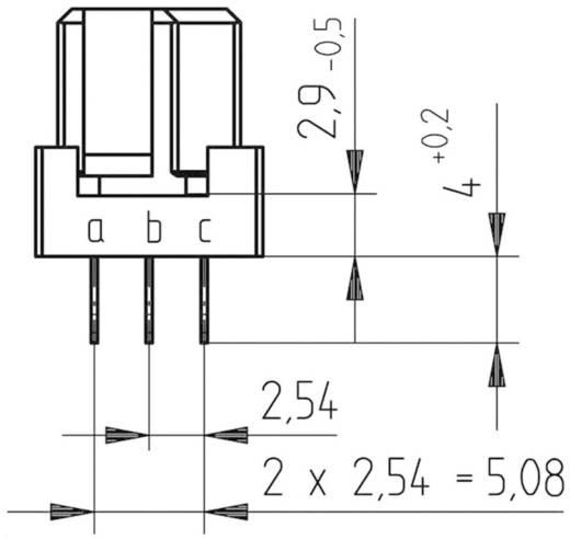 Rugósléc Kivitel C/2 a+b+c 284174 ERNI Tartalom: 1 db
