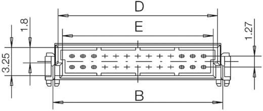SMC csatlakozótűsor Kivitel (pl. 154766 ERNI Tartalom: 1 db