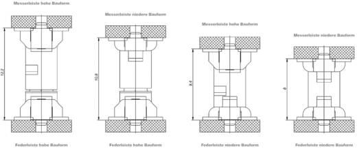 SMC csatlakozótűsor Kivitel (pl. 154767 ERNI Tartalom: 1 db