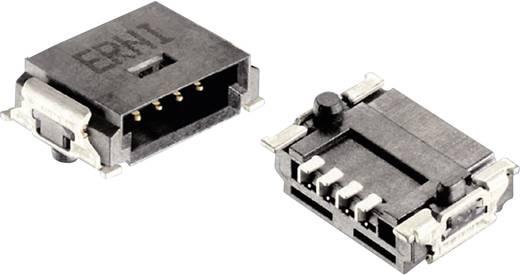 Mini híd csatlakozótűsor Kivitel P Csatlakozósor, egyenes 284697 ERNI Tartalom: 1 db