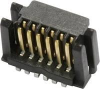 Csatlakozó rendszer, MicroStac® Kivitel Egysoros Tű/alj, egyenes 114711 ERNI Tartalom: 1 db (114711) ERNI