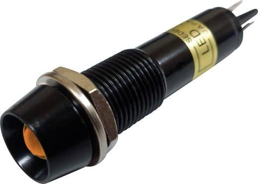 LED-es jelzőlámpa Narancs 24 V/DC Sedeco BD-0901B