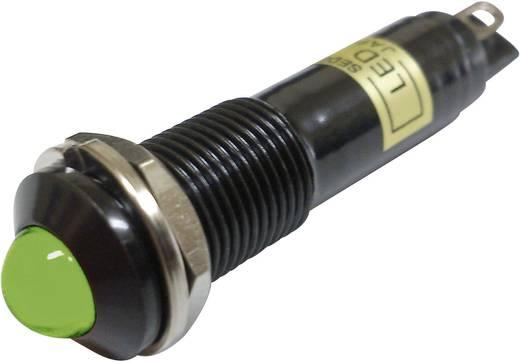 LED-es jelzőlámpa Zöld 12 V/DC Sedeco BD-0903B
