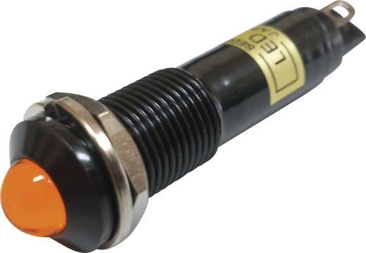 LED-es jelzőlámpa Narancs 24 V/DC Sedeco BD-0903B