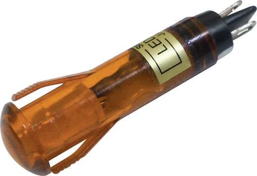 LED-es jelzőlámpa Narancs 12 V/DC Sedeco BD-0819