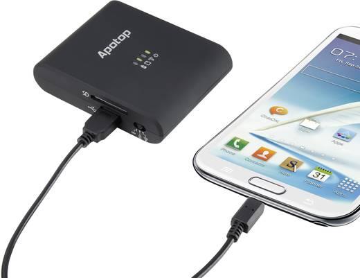 WiFi-s kártyaolvasó, USB 2.0 adatolvasó SD, LAN Apotop DW21