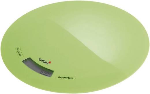 Digitális konyhai mérleg, zöld, Korona Ronda 70222