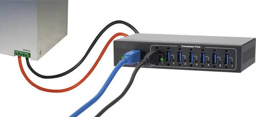 7 portos USB hub, Renkforce