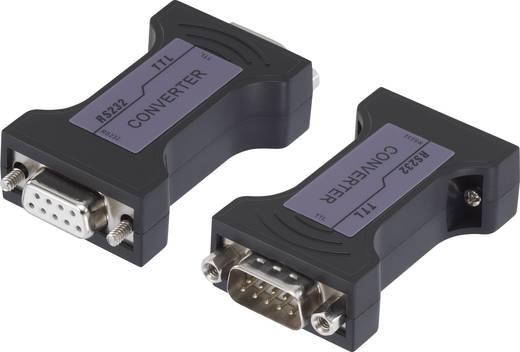 Soros adapter, [1x D-SUB dugó, 9 pólusú - 1x D-SUB alj, 9 pólusú] 0 m fekete