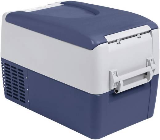Szivargyújtós autós, elektromos hűtőláda, kompresszoros 12V/230V 31L-es MobiCool FR35