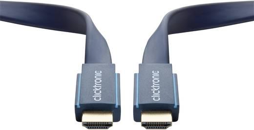 HDMI kábel [1x HDMI dugó - 1x HDMI dugó] 2 m Kék 3840 x 2160 pixel clicktronic 70314