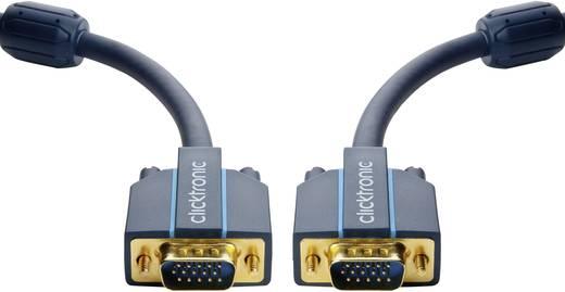VGA Csatlakozókábel [1x VGA dugó - 1x VGA dugó] 15 m Kék 2560 x 1600 pixel clicktronic