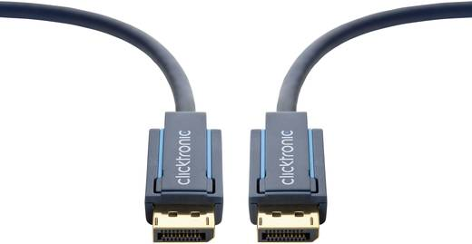 Kijelző csatlakozó Csatlakozókábel [1x DisplayPort dugó - 1x DisplayPort dugó] 15 m Kék 1920 x 1080 pixel clicktronic